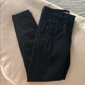 LOFT slim black pant